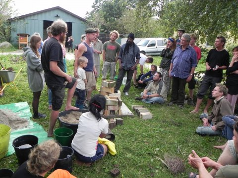 Rocket stove workshop